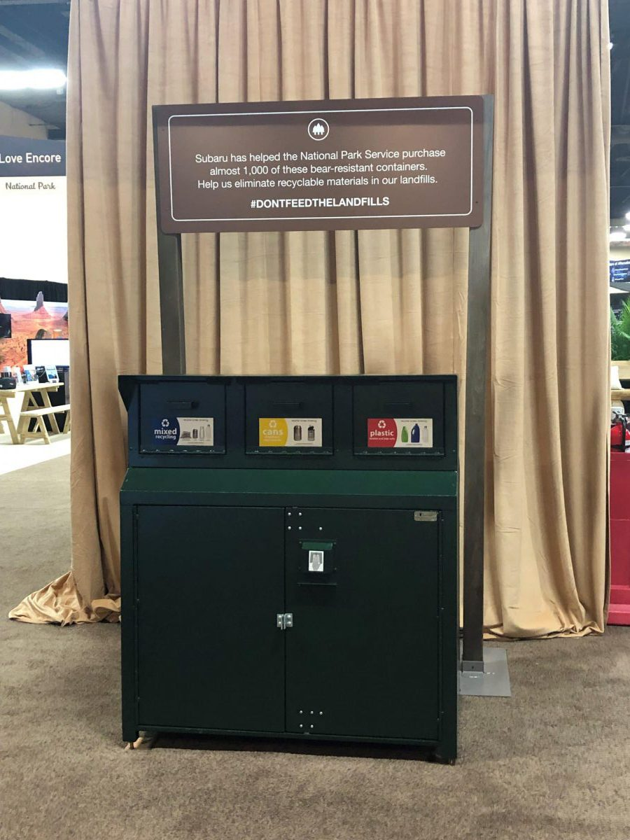 Zero-landfill event at Subaru National Business Conference
